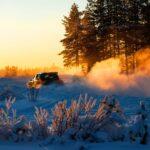 havon hasítanak az újonc téli Finn-ralin – Toyota hírek