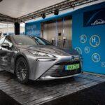 Lerakta a magyarországi hidrogén alapú társadalom alapjait a vadonatúj Toyota Mirai hazai bemutatása | Toyota hírek