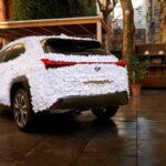Virágszirmokkal borított UX-et készített a Lexus – Lexus hírek