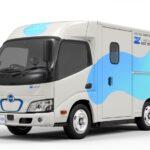 Városi futároknak tervezte alacsonypadlós teherautóját a Hino – Toyota hírek
