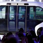 Autonóm Toyota kisbusz gázolt az olimpiai faluban